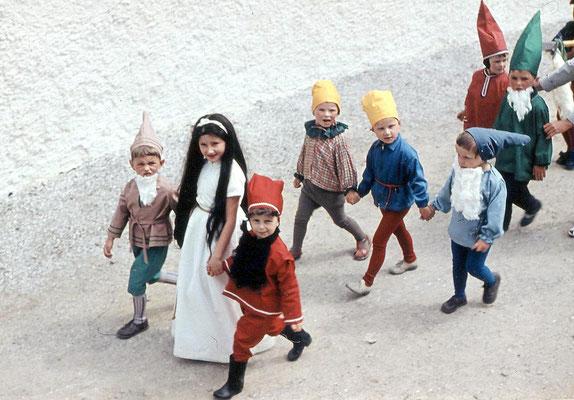 Wünschendorf Erzgebirge Schul und Heimatfest 1965 Foto: J.Pflugbeil