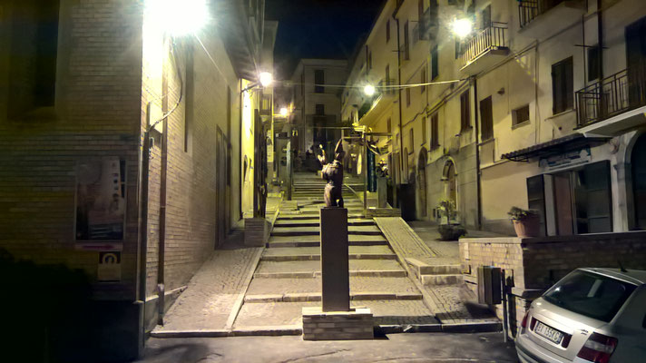 """""""ICARO"""" veduta di via Concezio Rosa"""