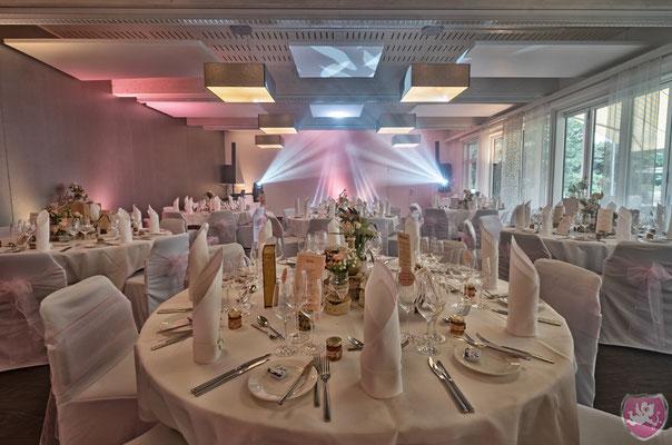 Hochzeit auf dem Golf Pavillon im Hotel Aarau West