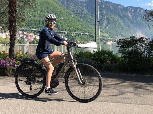 April 2018: Ausfahren nach dem Match am Genfersee in Montreux VD