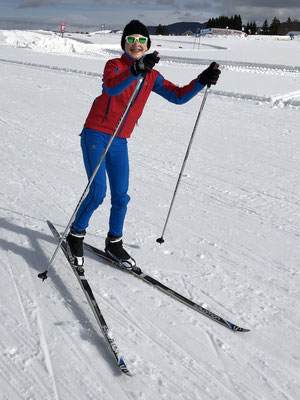 Februar 2019: Langlaufen in Einsiedeln SZ