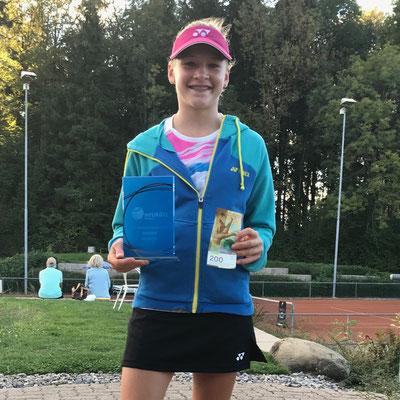 September 2018: Erster Turniersieg an einem N-Turnier, WS N3/R2, in Wädenswil ZH
