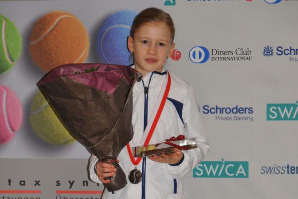 Januar 2014: Finalistin an den Junioren-Schweizermeisterschaften GS10, Winter in Kriens LU