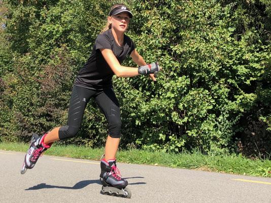 September 2018: Inline-Skaten um den Flughafen ZH