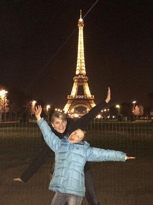 Januar 2016: Erste Turnierteilnahme auf der Tennis Europe Junior Tour GS12 im Ausland in Paris, Frankreich