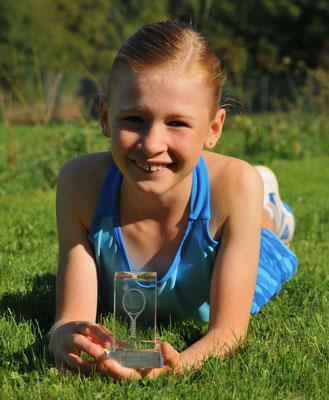 September 2014: Siegerin an den Regionalmeisterschaften ZSLT GS10 in Oetwil a. S. ZH
