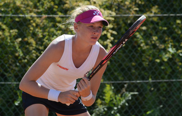 September 2019: Halbfinale ITF U18 J5 in Horgen