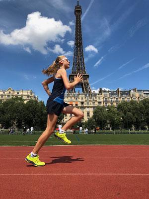 Juni 2018: Joggen in Paris, Frankreich
