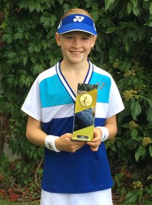 September 2015: Siegerin an den Regionalmeisterschaften ZSLT GS12 in Oetwil a. S. ZH