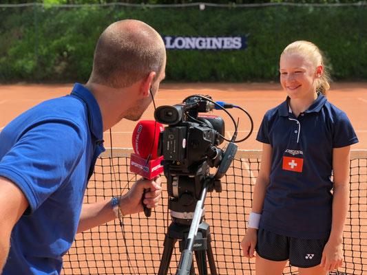 """Juni 2018: Interview anlässlich von """"Longines Future Tennis As 2018"""" in Paris, Frankreich"""