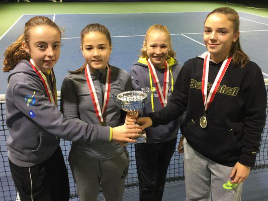 November 2016: Sieg an der Swiss Regional Challenge U14 in Horgen ZH