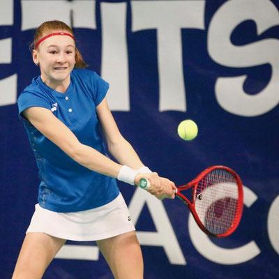 "Januar 2019: Viertelfinalistin bei ""Les Petits As Mondial Lacoste"" in Tarbes, Frankreich"