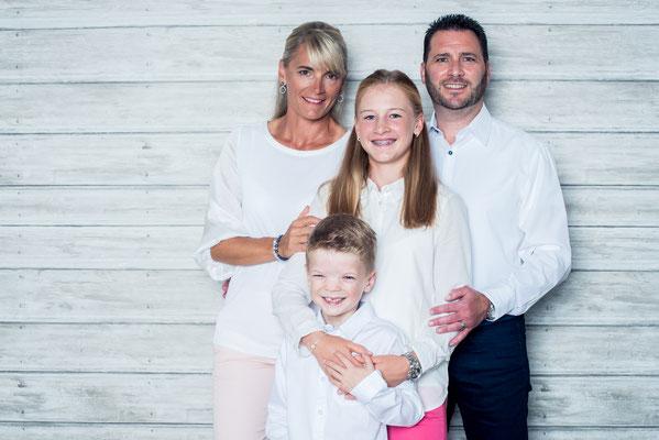 Oktober 2018: Mit Mama Sandra, Bruder Nicolas und Papa Ronald