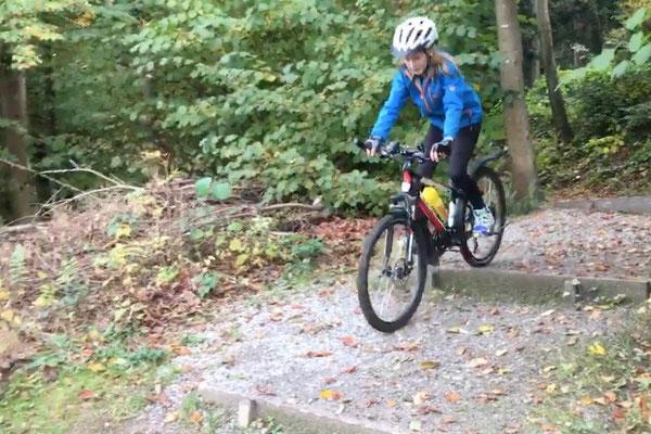 Oktober 2016: Biken in der Umgebung von Feusisberg SZ