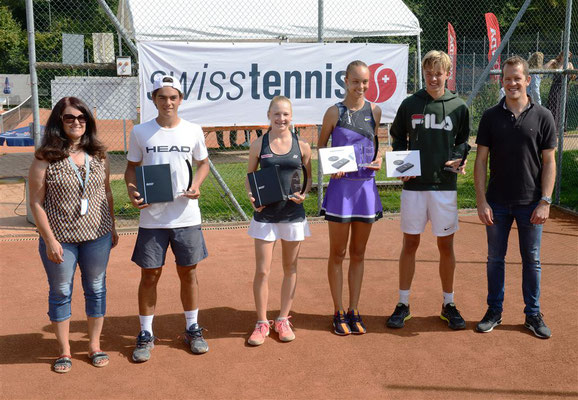 September 2019: Finalisten am ITF U18 J5 in Horgen