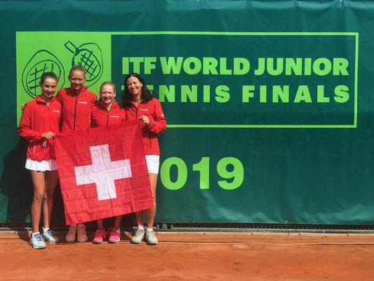 August 2019: ITF World Junior Tennis Finals U14 in Prostejov, Tschechien