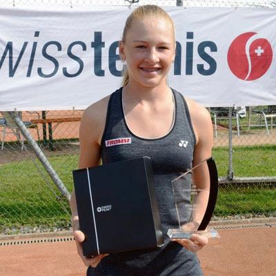 September 2019: Siegerin am ITF U18 J5 in Horgen