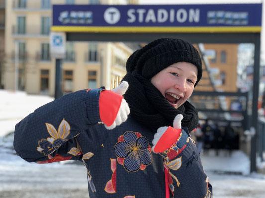 Februar 2018: Abstecher nach Stockholm, Schweden