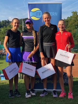 September 2019: Siegerin im Doppel an der Seite von Karolina Kozakova am ITF U18 J4 in Luzern