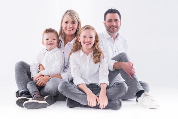 Dezember 2016: mit Bruder Nicolas, Mama Sandra und Papa Ronald