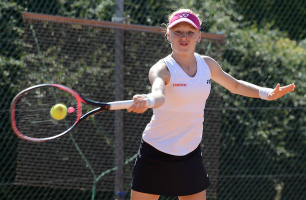 September 2019: Halbfinale ITF U18 J5 in Horgen