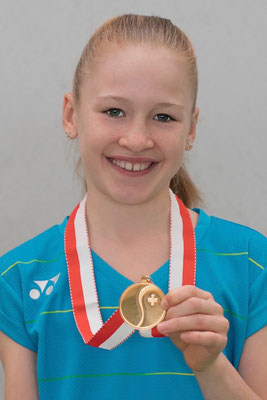 Januar 2017: Siegerin an den Junioren-Schweizermeisterschaften GS12, Winter in Kriens LU