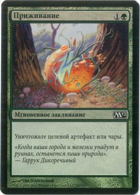 Naturalisation russe M12 foil