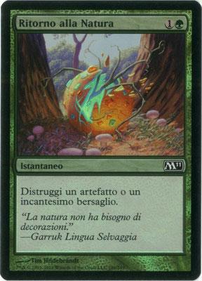 Naturalisation italien M11 foil
