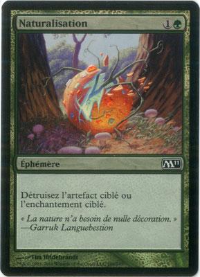 Naturalisation français M11 foil
