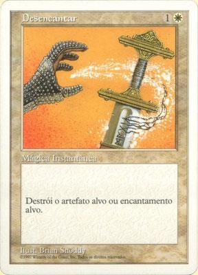 Désenchantement Portugais Cinquième édition. Version claire.