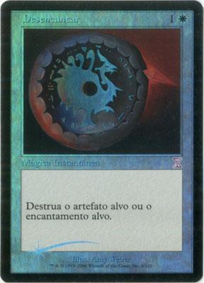 Désenchantement portugais Spirale temporelle décalée dans le temps foil