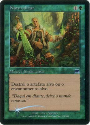 Naturalisation portugais Carnage foil