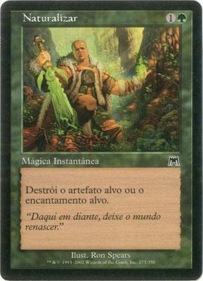 Naturalisation portugais Carnage front cut. Des decks à thème.