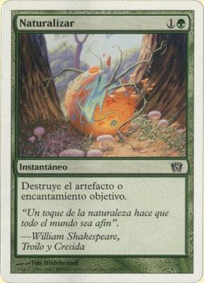 Naturalisation espagnol Huitième édition. Weird cut, fabriqué aux États-Unis.