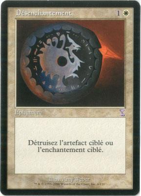 Désenchantement français Spirale temporelle décalée dans le temps
