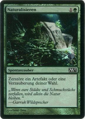Naturalisation allemand M13 foil