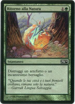 Naturalisation italien M14 foil