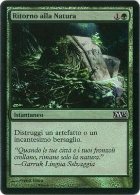 Naturalisation italien M13 foil
