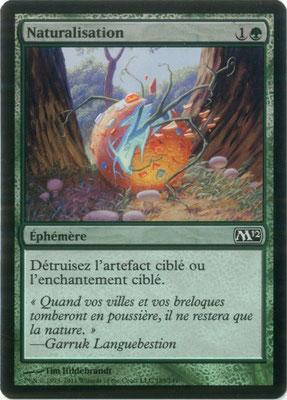 Naturalisation français M12 foil