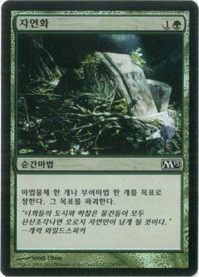 Naturalisation coréen M13 foil