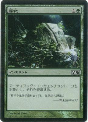 Naturalisation japonais M13 foil