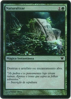 Naturalisation portugais Innistrad foil