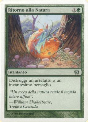 Naturalisation italien Huitième édition front cut. Des decks à thème.