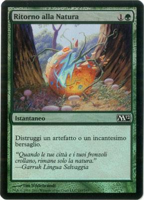Naturalisation italien M12 foil