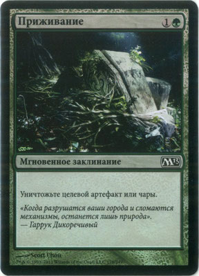 Naturalisation russe M13 foil