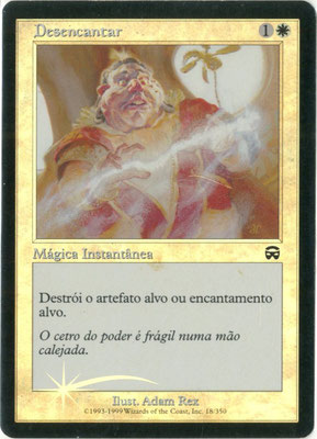 Désenchantement portugais Masques de Mercadia foil