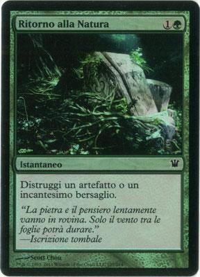 Naturalisation italien Innistrad foil