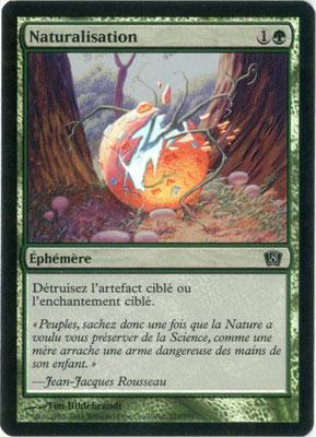 Naturalisation français Huitième édition foil
