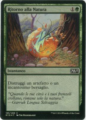 Naturalisation italien M15 foil