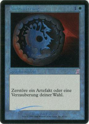 Désenchantement allemand Spirale temporelle décalée dans le temps foil